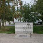Camper toilet disposal