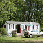 Mobile Home and car