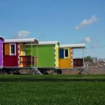 Coloured Mobile Homes