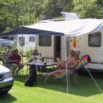 Caravan relaxing